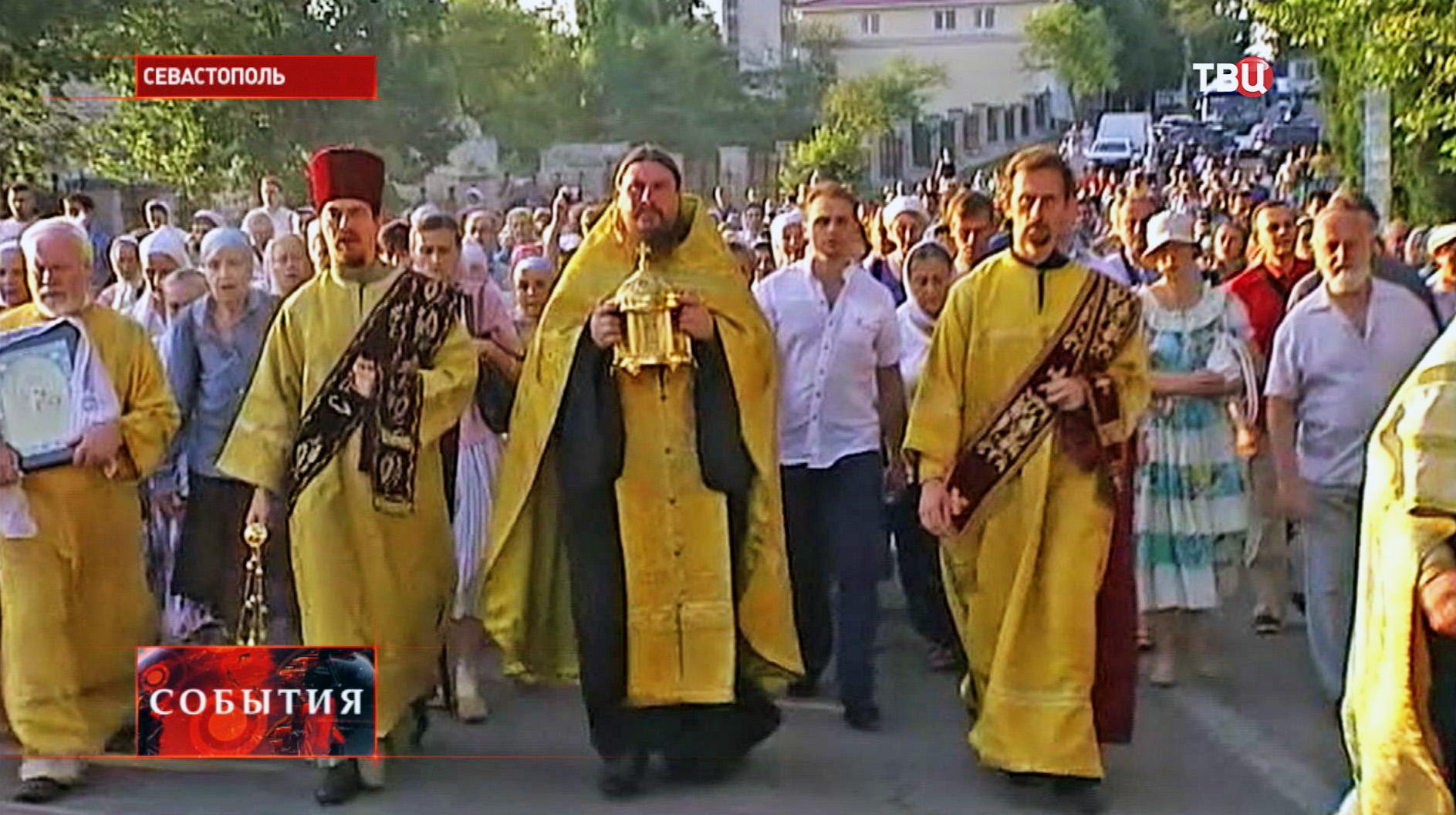 Крестный ход в Севастополе