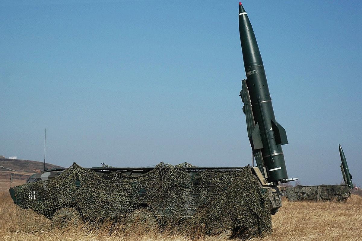 """Дивизионный ракетный комплекс """"Точка-У"""""""