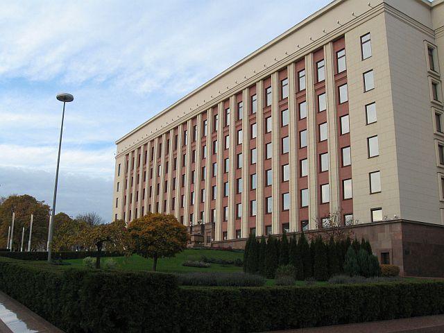 Здание администрации президента Белоруссии