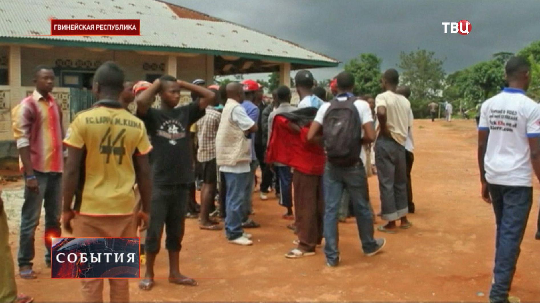 Деревня в Гвинейской Республике