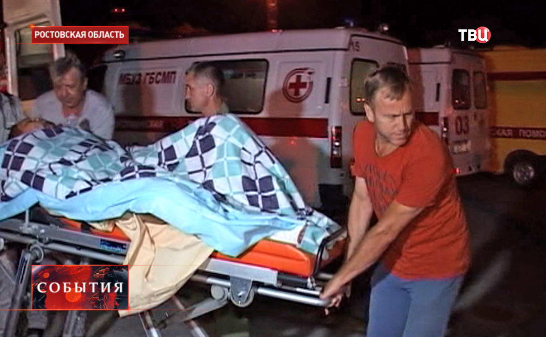 Раненые украинские силовики