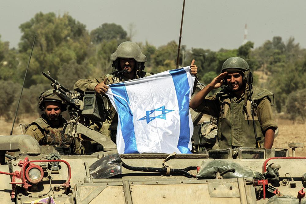 Солдаты израильской армии