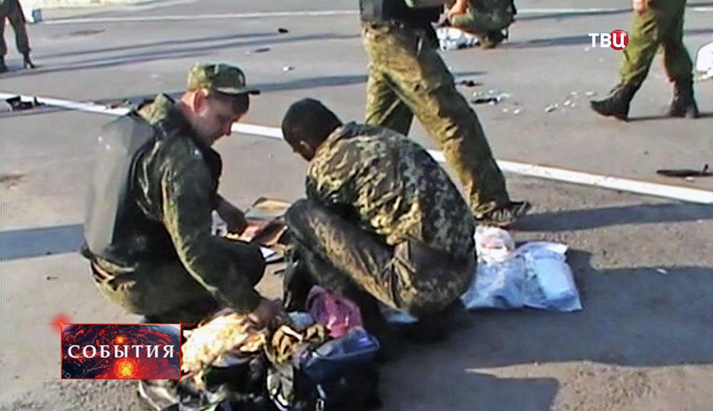 Украинские военные перешли границу с Россией