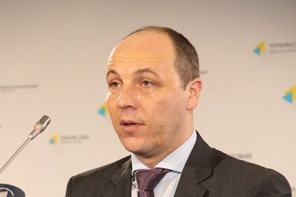 Украинский депутат Андрей Парубий