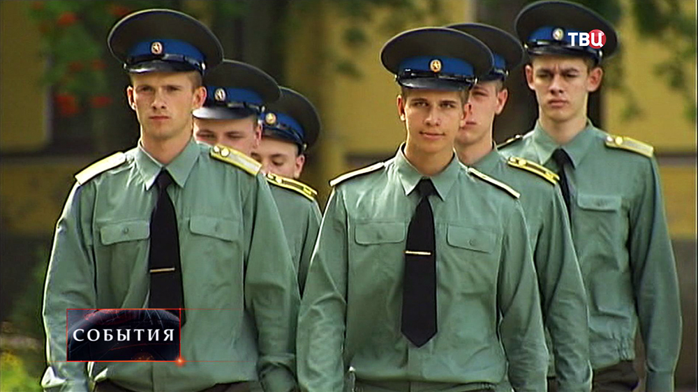 Курсанты военно-космической академии имени Можайского