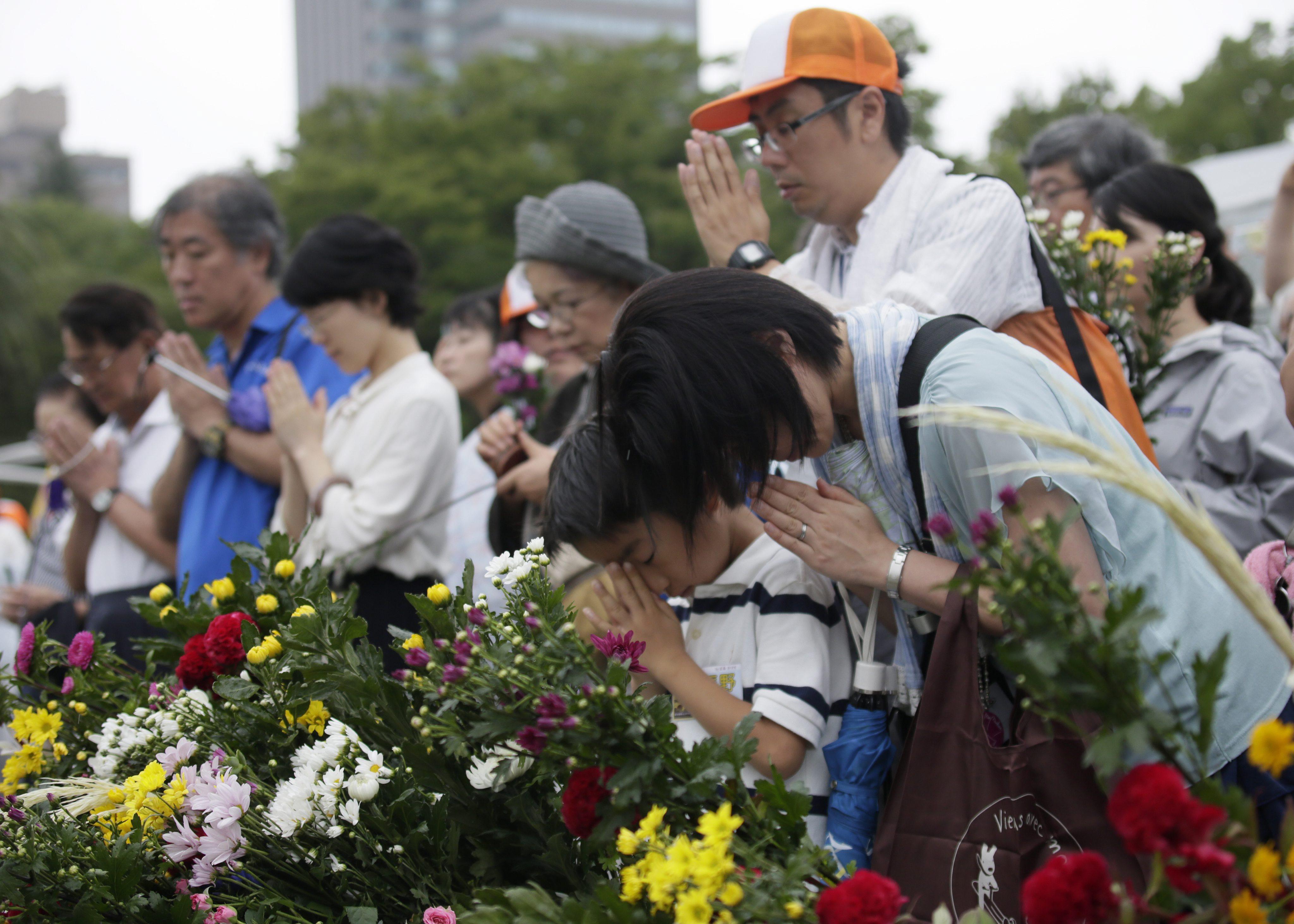 Мероприятия по случаю 69-й годовщины атомной бомбардировки Хиросимы
