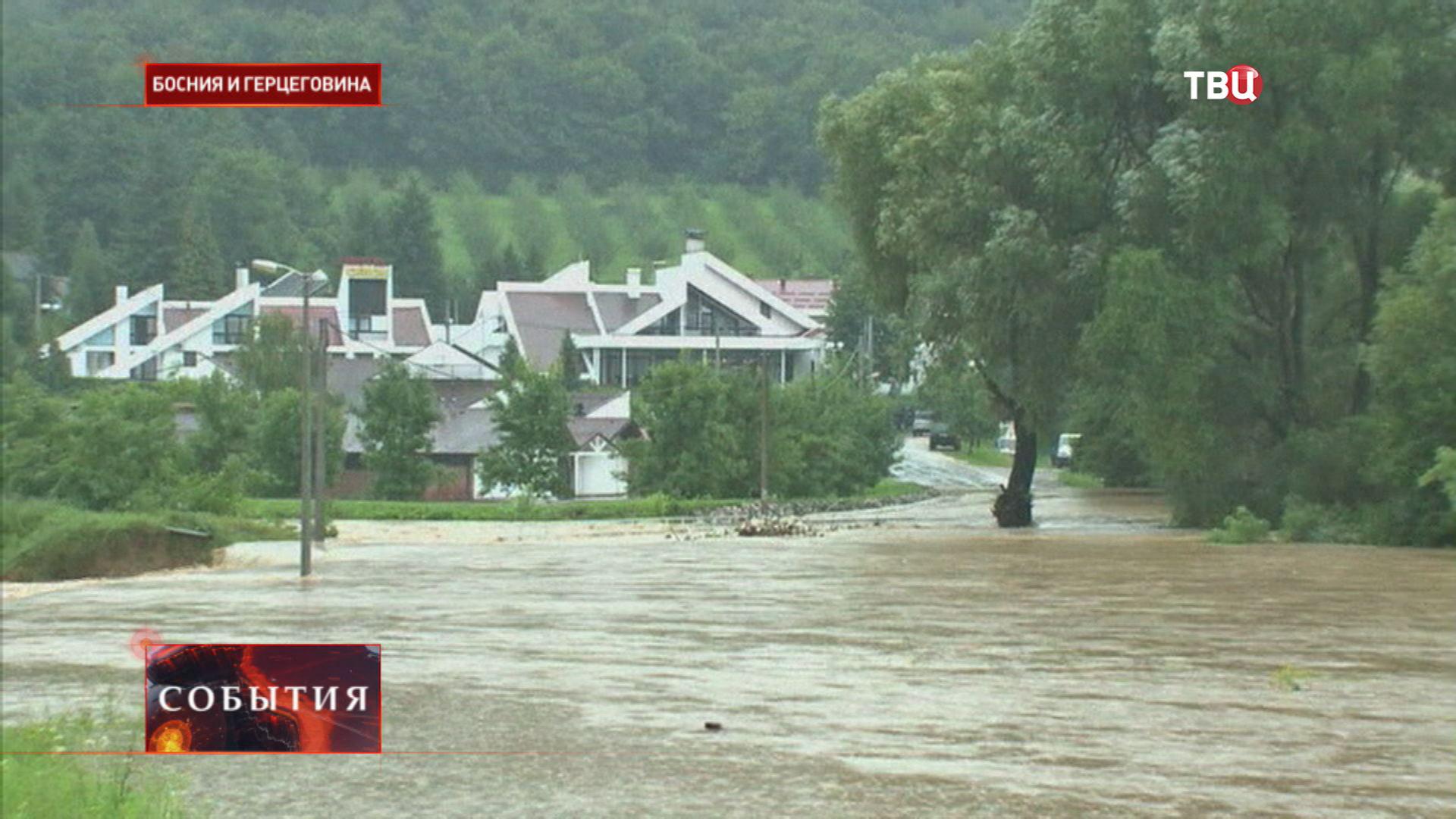 Наводнение в Боснии и Герцеговины
