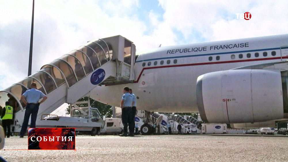 Самолет французских авиалиний