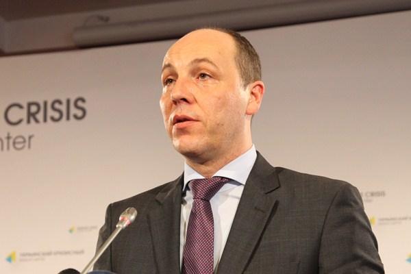 Экс-глава СНБО Андрей Парубий