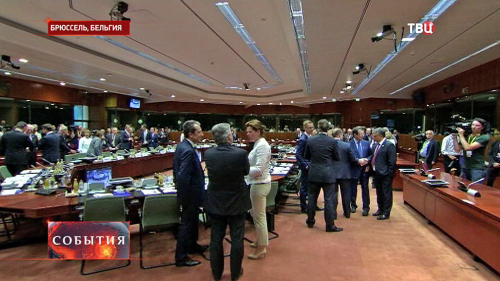 Заседание Европарламента в Бельгии