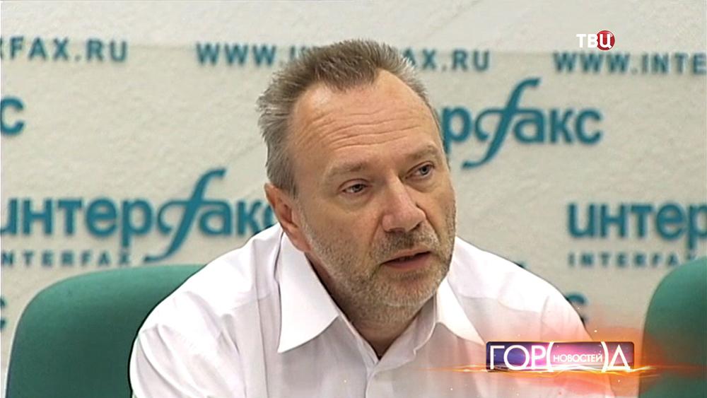 Вице-президент Российского союза туриндустрии Александр Осауленко