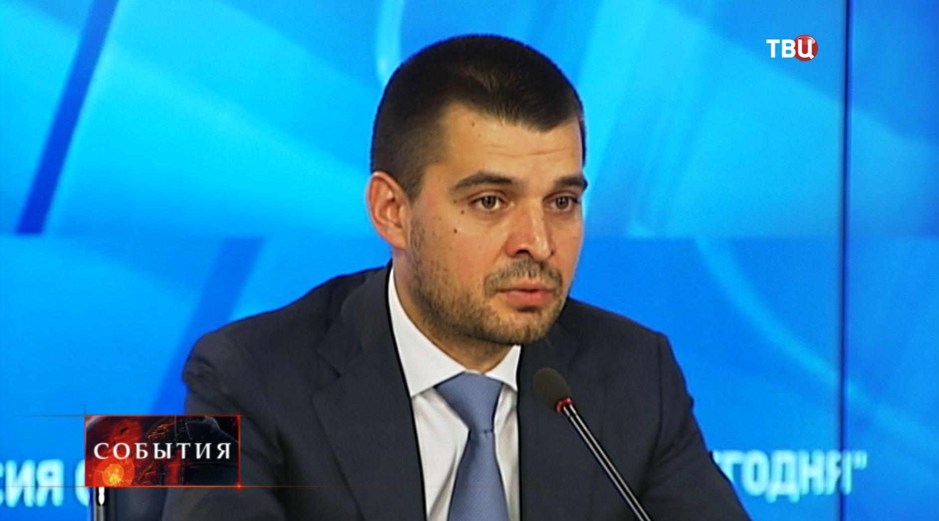 Член Комитета общественной поддержки жителей юго-востока Украины Сергей Мамедов