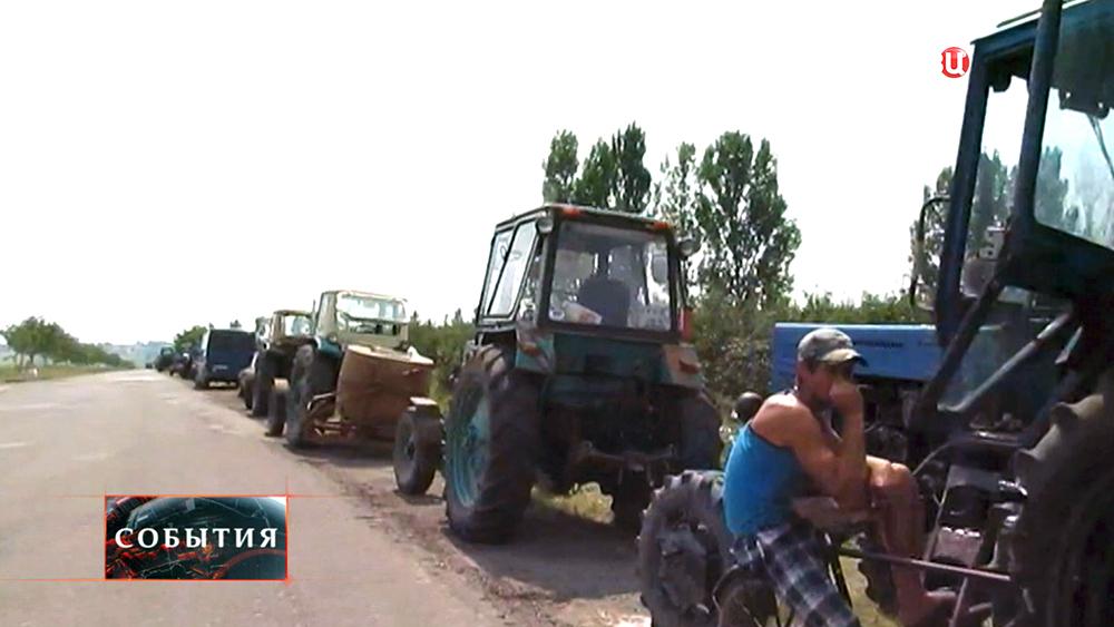 Протест европейских фермеров