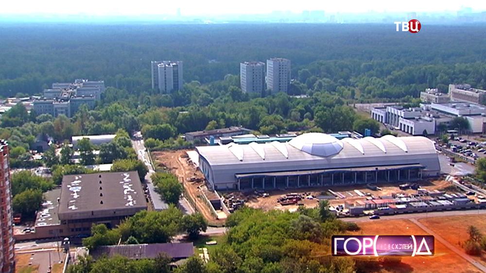 Строительство манежа Московский Государственный Строительный Университет