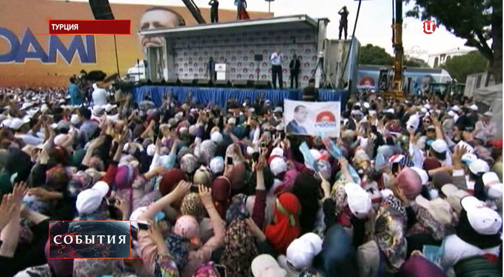 Предвыборная агитация в Турции