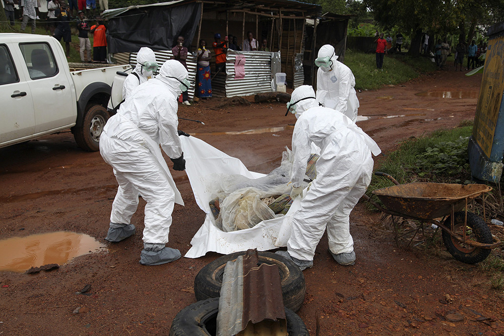 Лихорадка Эбола в Либерии