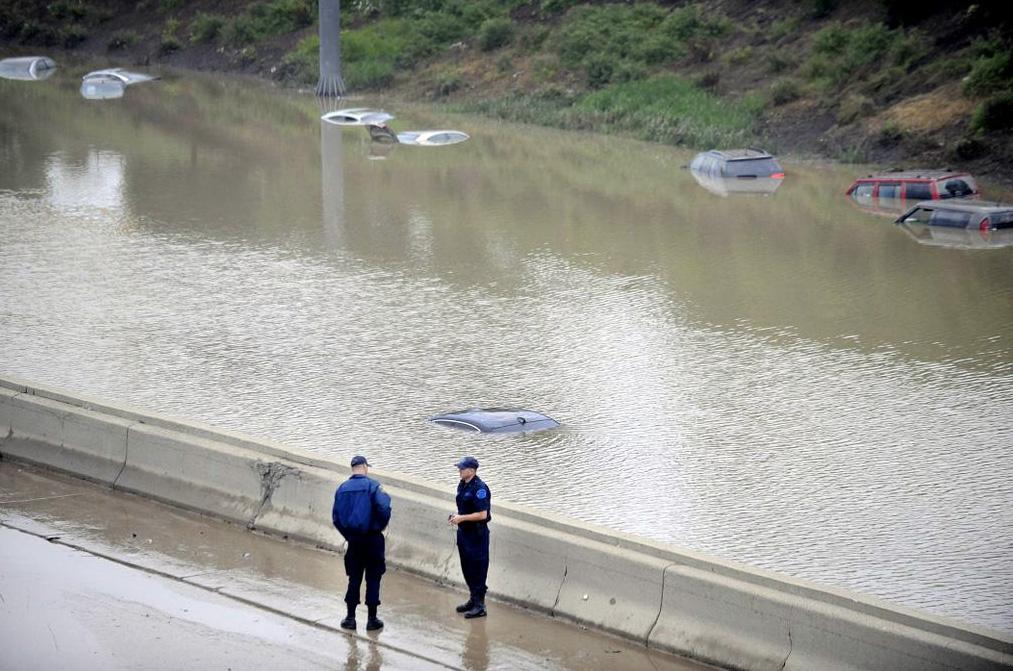 Наводнение в Детройте