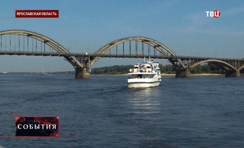 Река Волга в Ярославской области