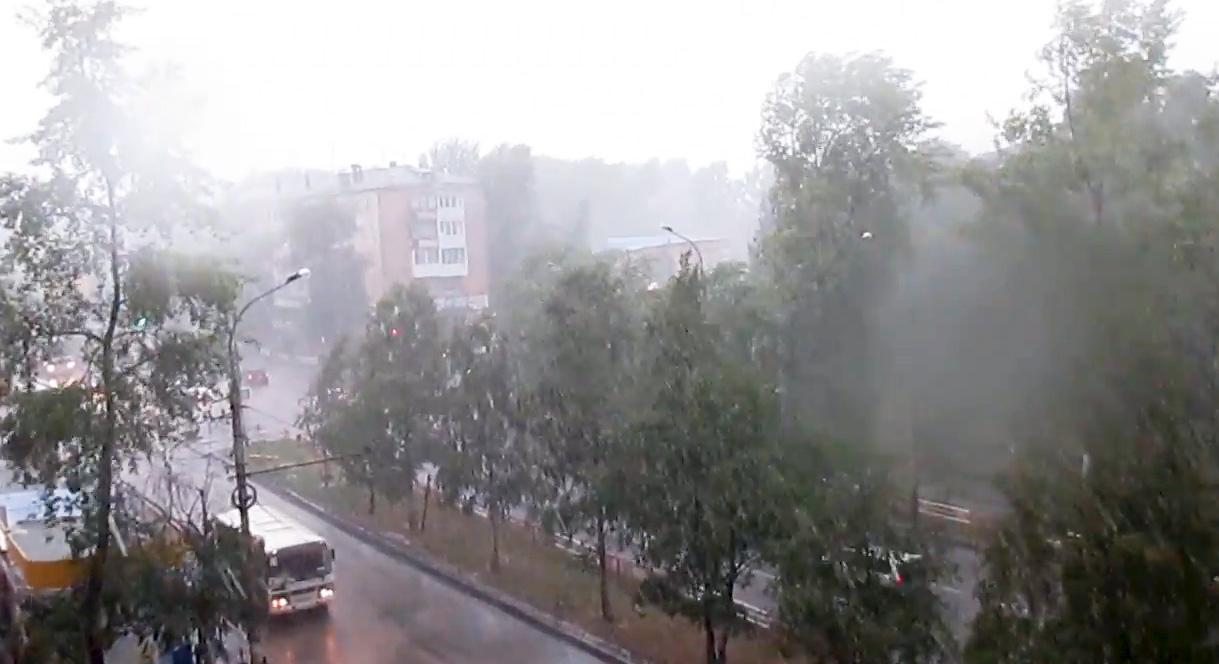 Ураган в Архангельске