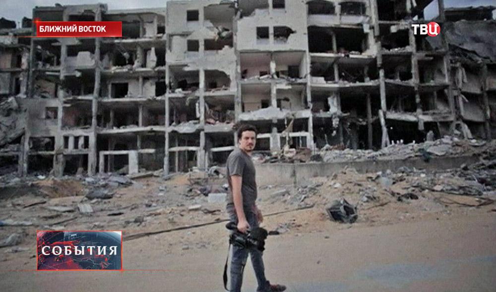 На Ближнем Востоке погиб видеооператор информагентства Associated Press Симоне Камилли
