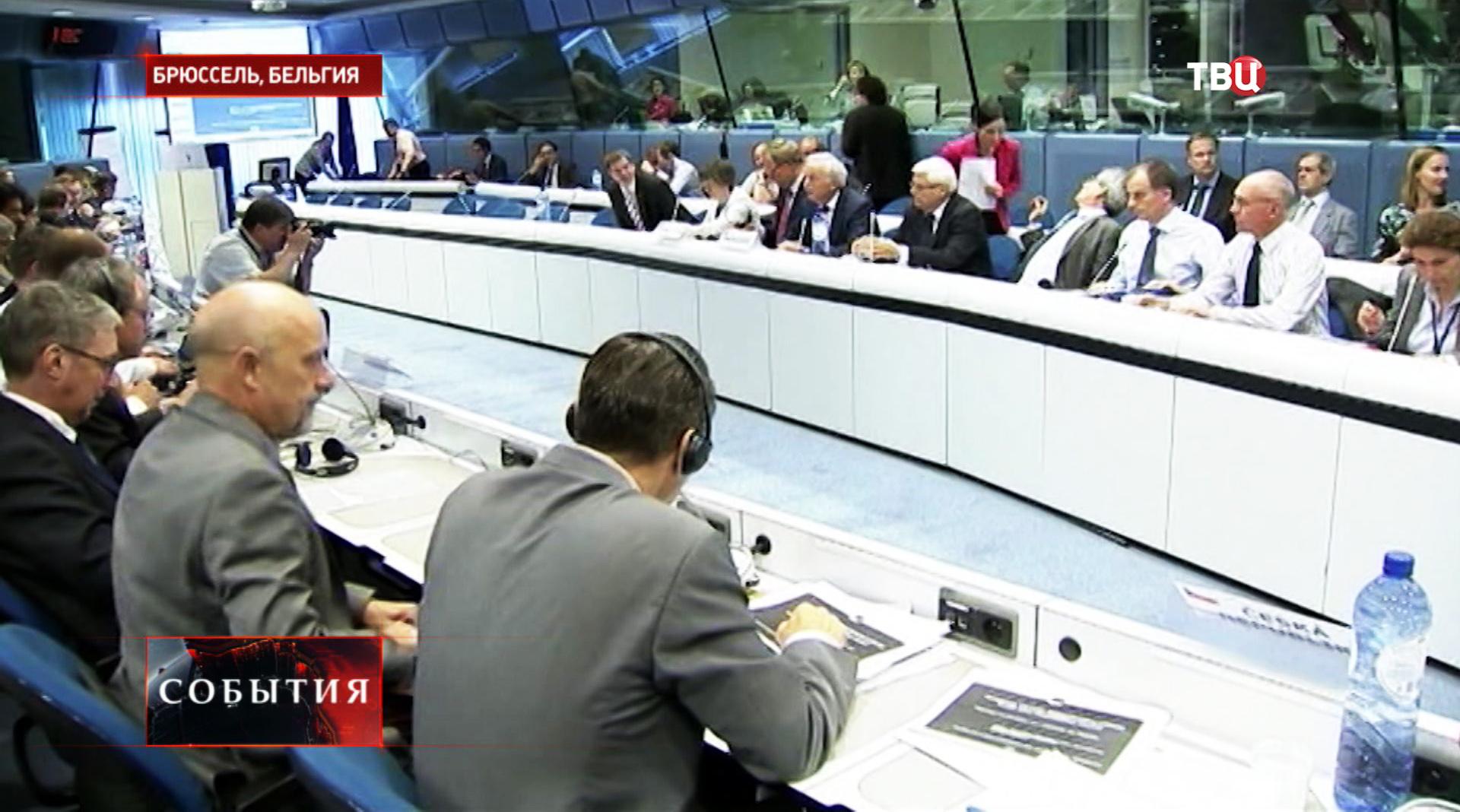 Эксперты сельского хозяйства на совещании в Еврокомиссии