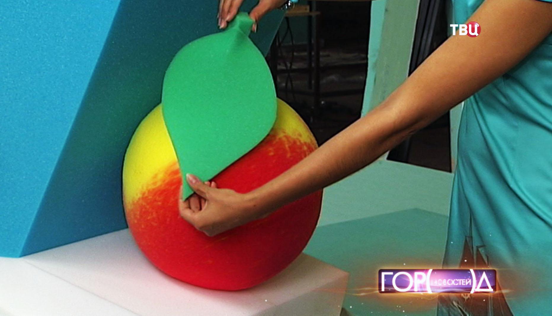 Декорация к фруктовому карнавалу
