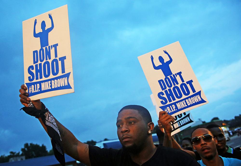 Митинг в США против действий полиции