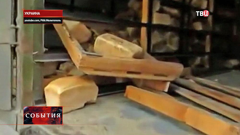 Хлеб для украинской армии