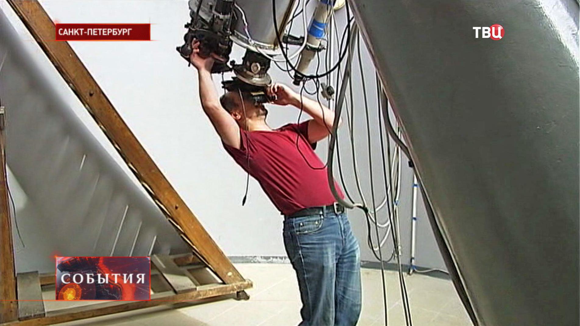 Работники Пулковскоской обсерватории
