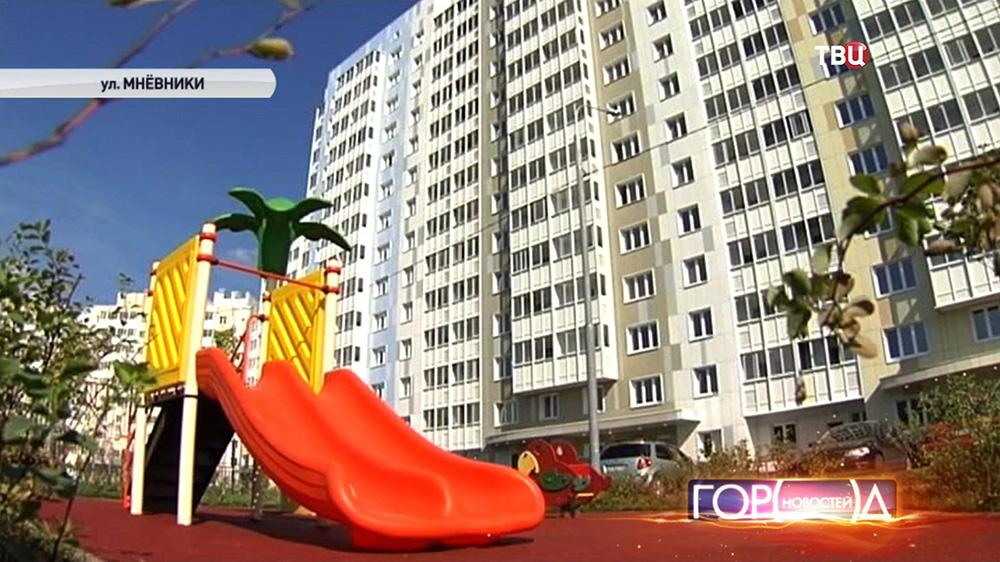 Новостройки в районе Хорошёво-Мнёвники