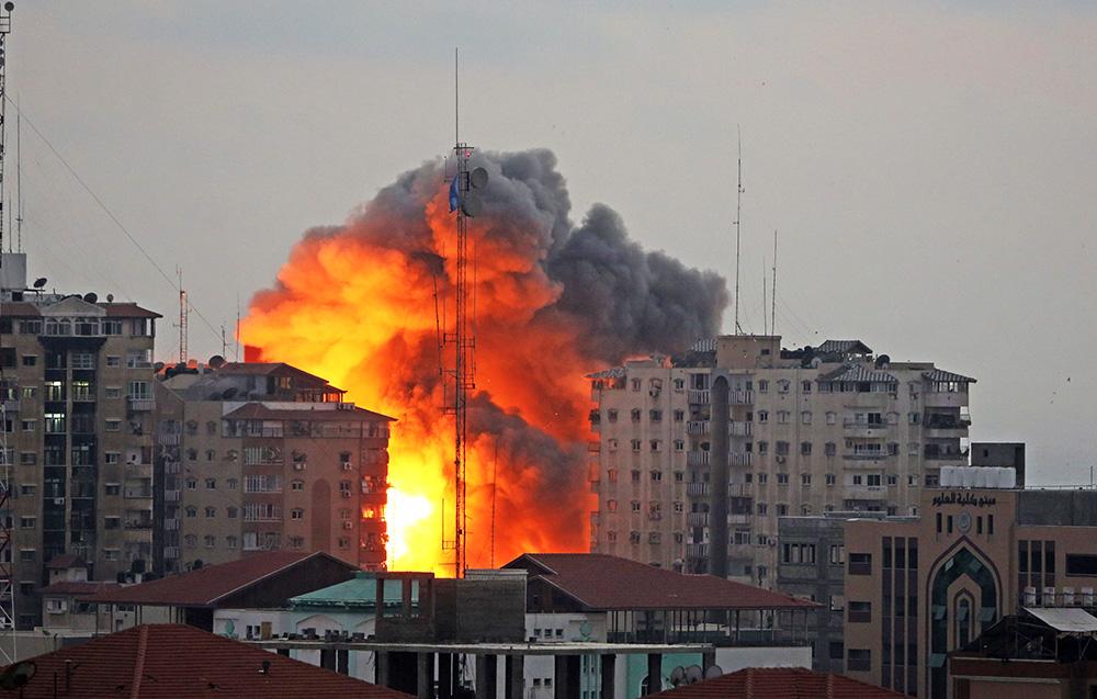 Ракетный удар по сектору Газа