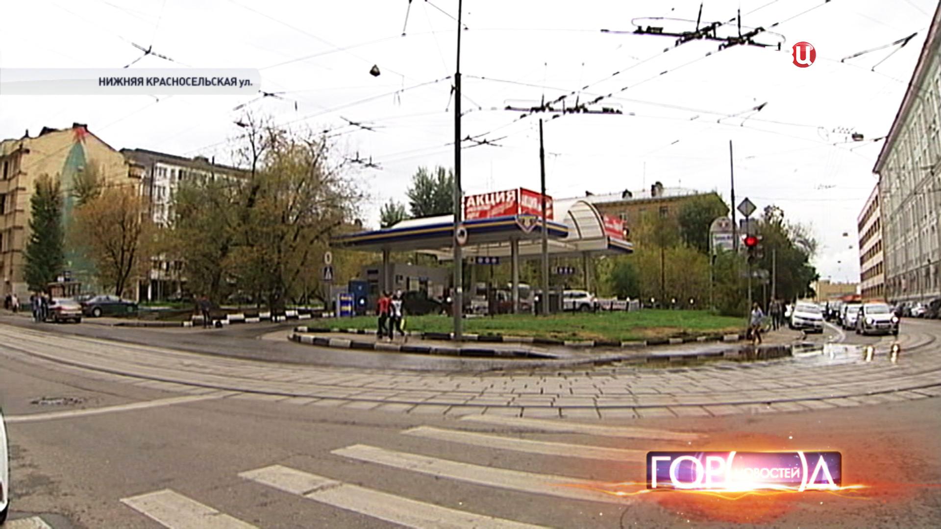 АЗС на Нижней Красносельской улице