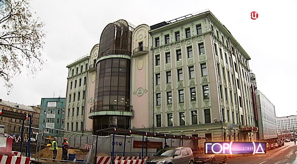 Здание украинского бизнесмена Игоря Коломойского