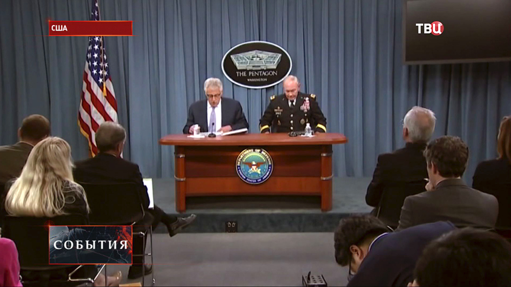 Брифинг представителей Пентагона