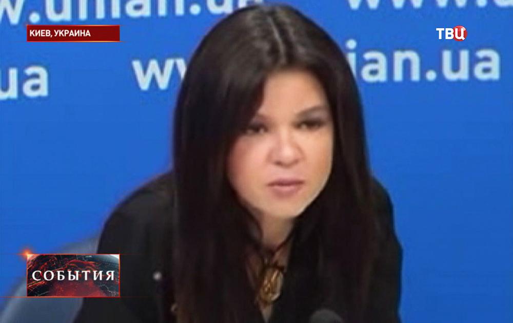 Украинская певица Руслана Лыжичко