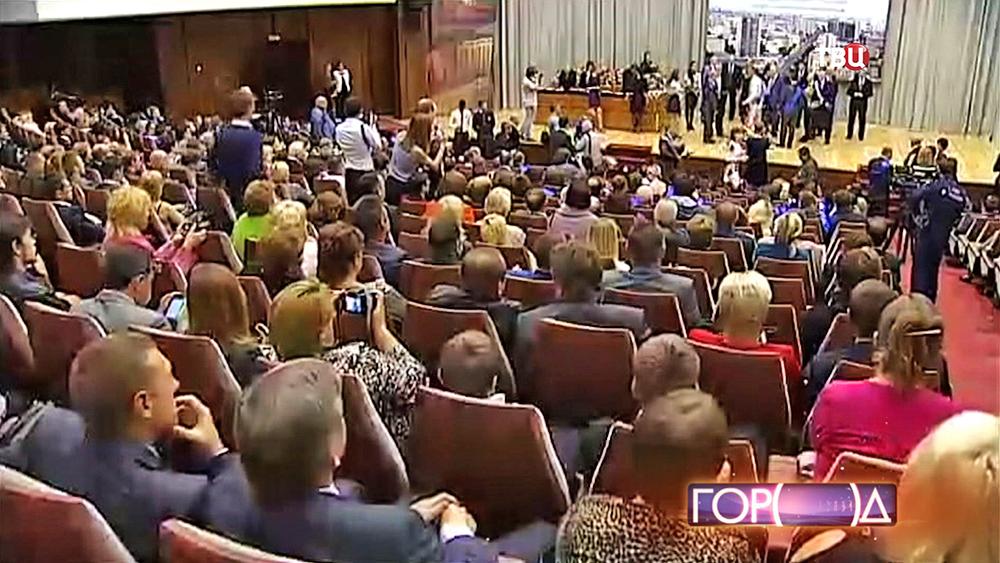 Награждение победителей городского конкурса «Московские мастера»