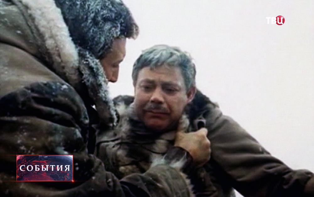 Актёр Донатас Банионис играет в фильме