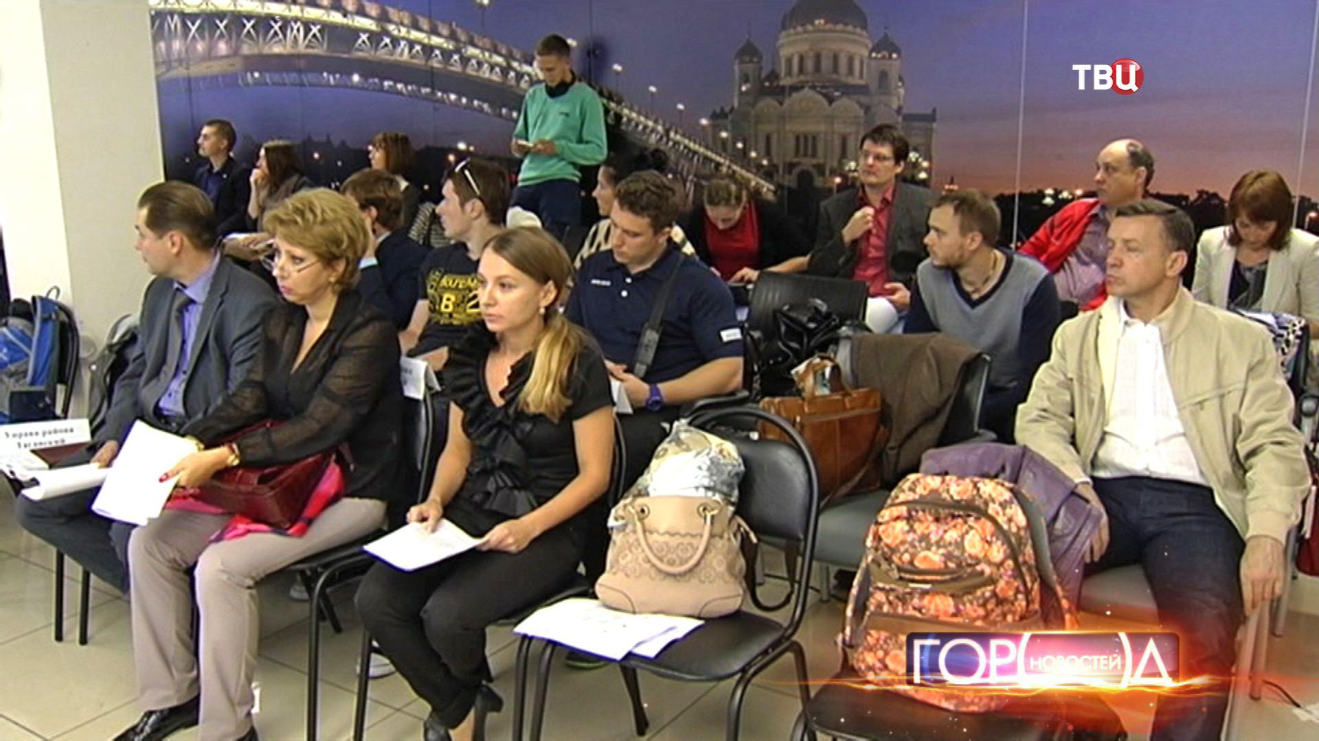 Роад-шоу в Центральном округе Москвы