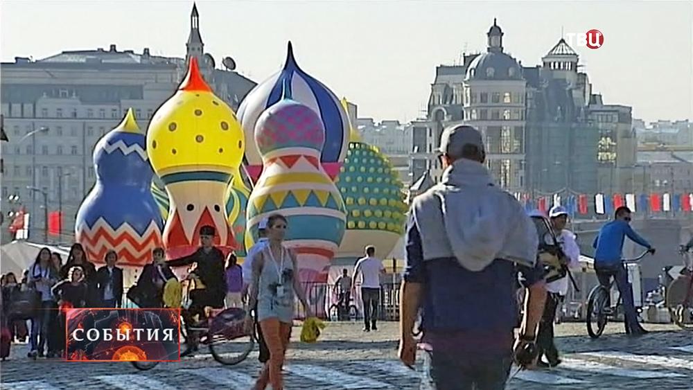 В Москве отмечают День города