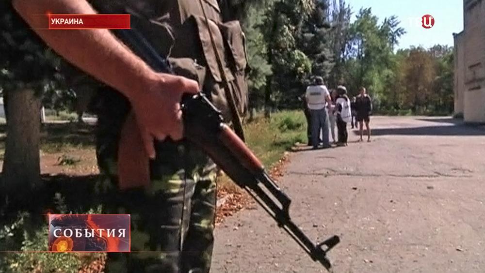 Народные ополченцы Новороссии