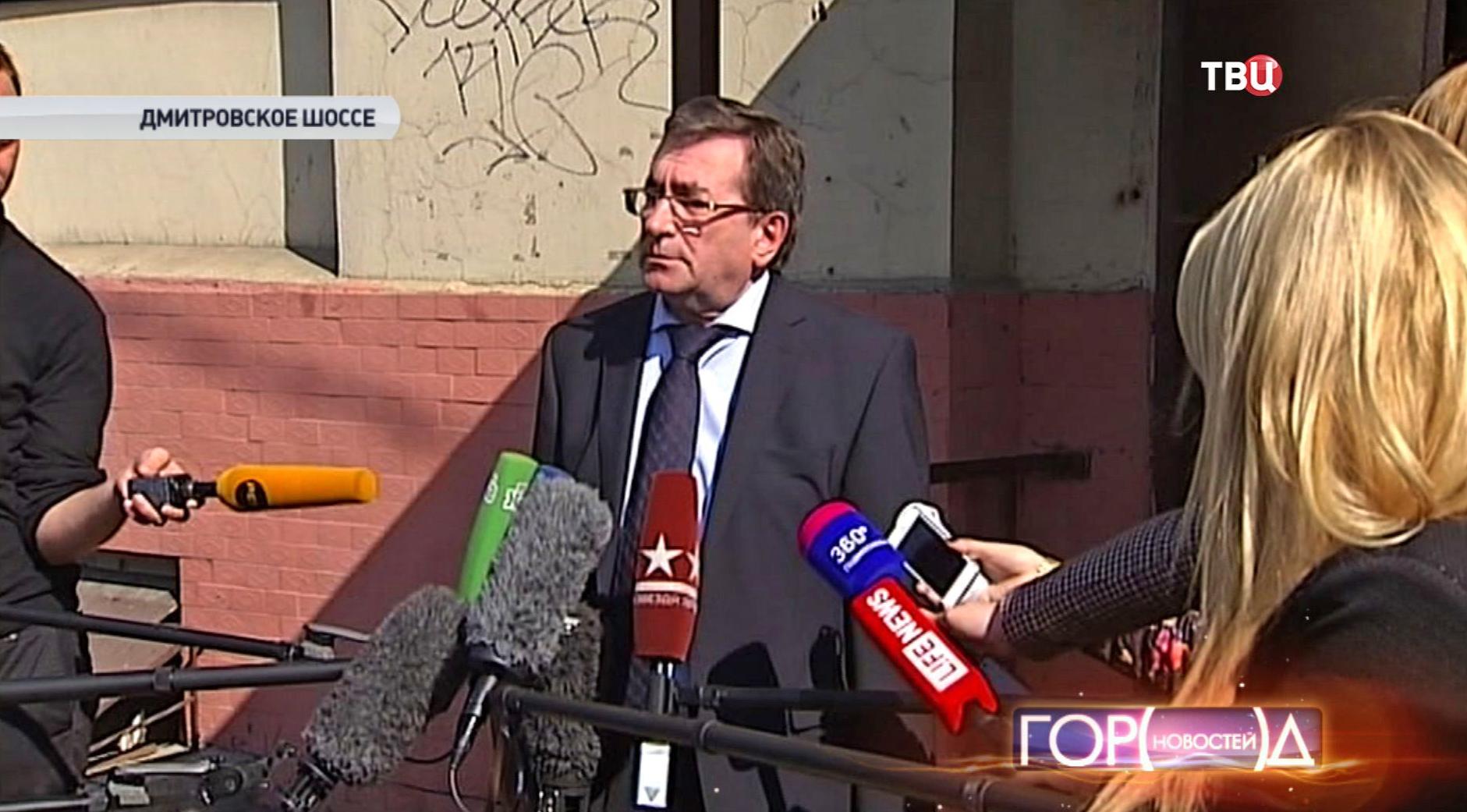 Адвокат подсудимого Владимир Левин