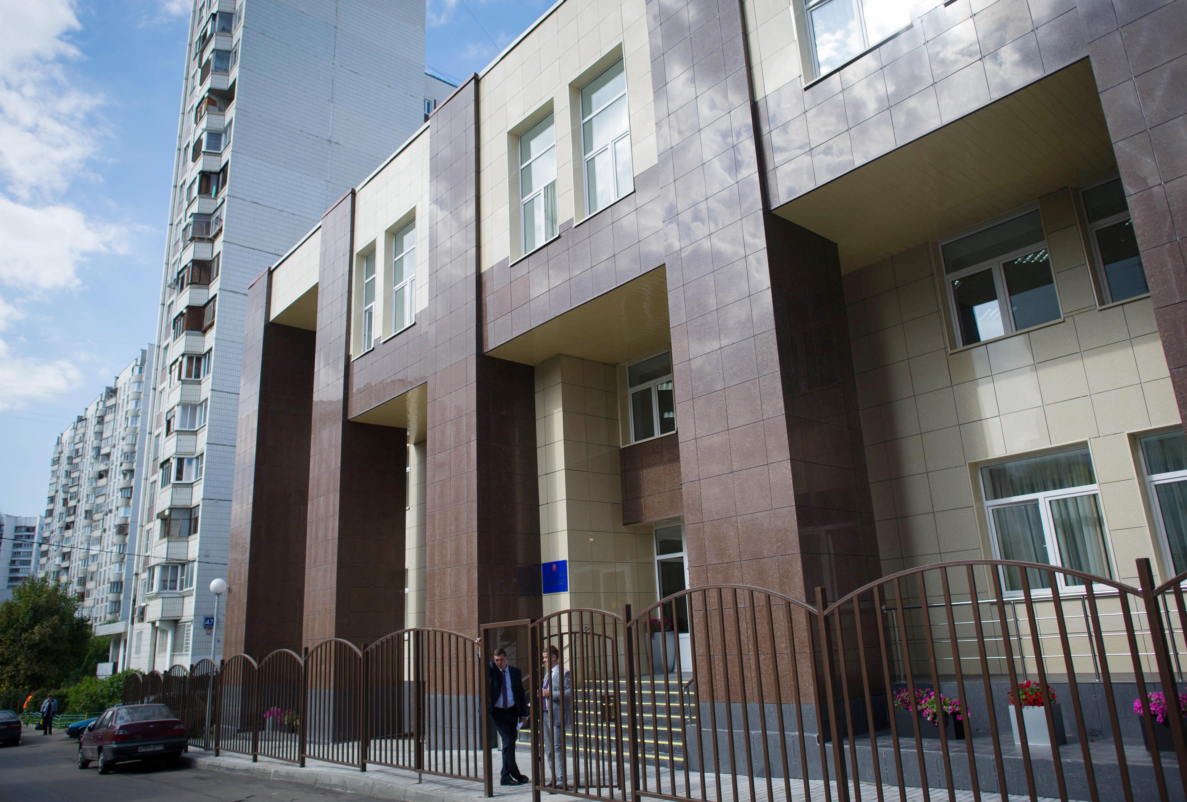 Новое здание детской школы искусств имени И.Ф. Стравинского