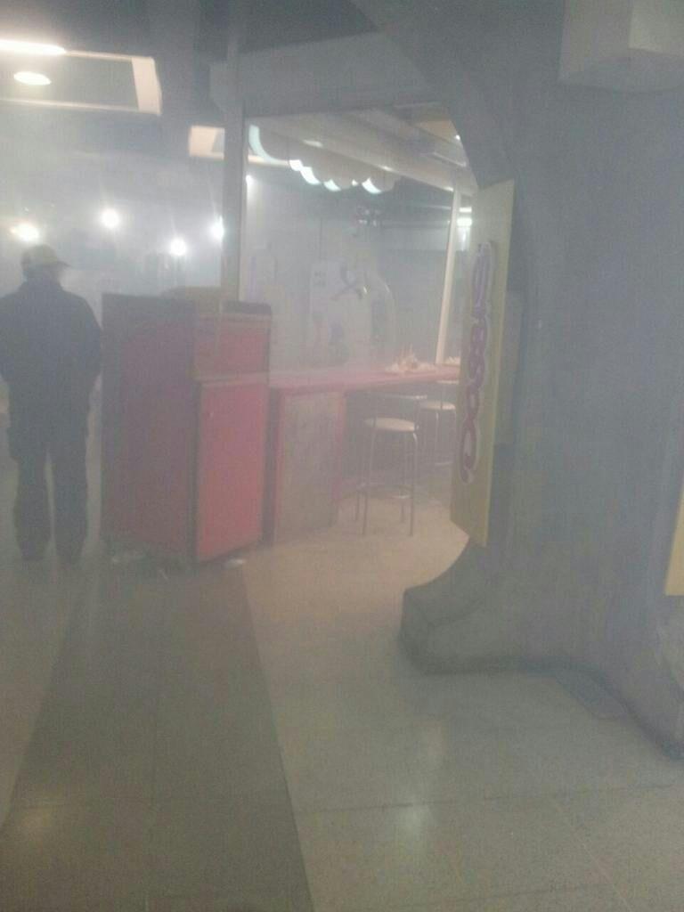 Взрыв в метро Чили