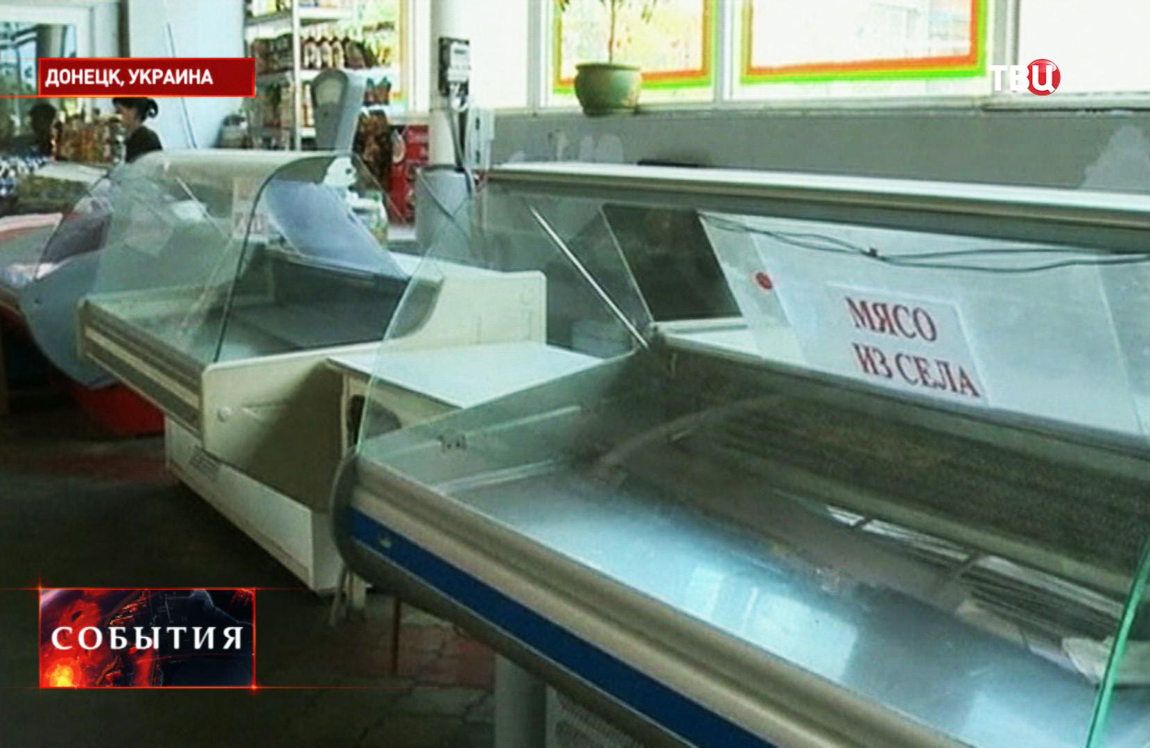Продуктовый магазин в Донецке