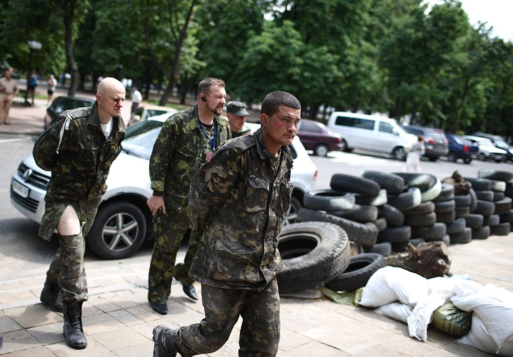 Военнопленные украинской армии