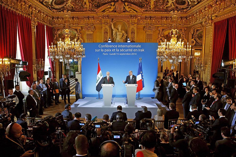 Международная конференция по ситуации в Ираке открылась в Париже