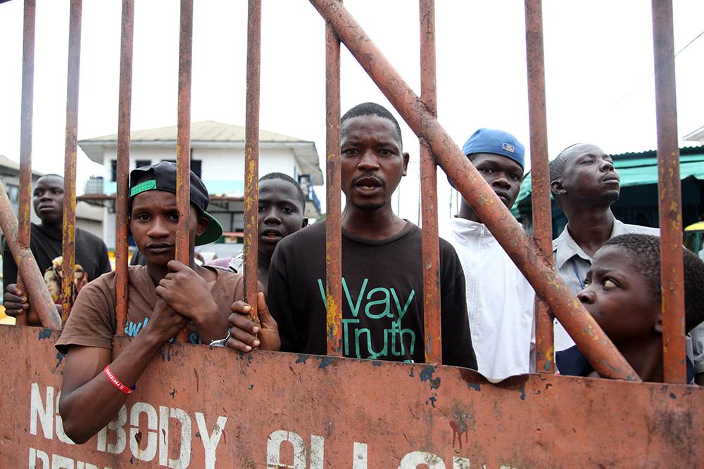 Режим чрезвычайного положения из-за лихорадки Эбола в Либерии