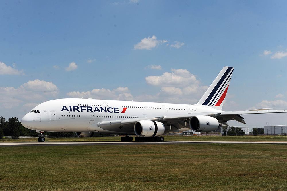 Самолет Air France Airbus A380