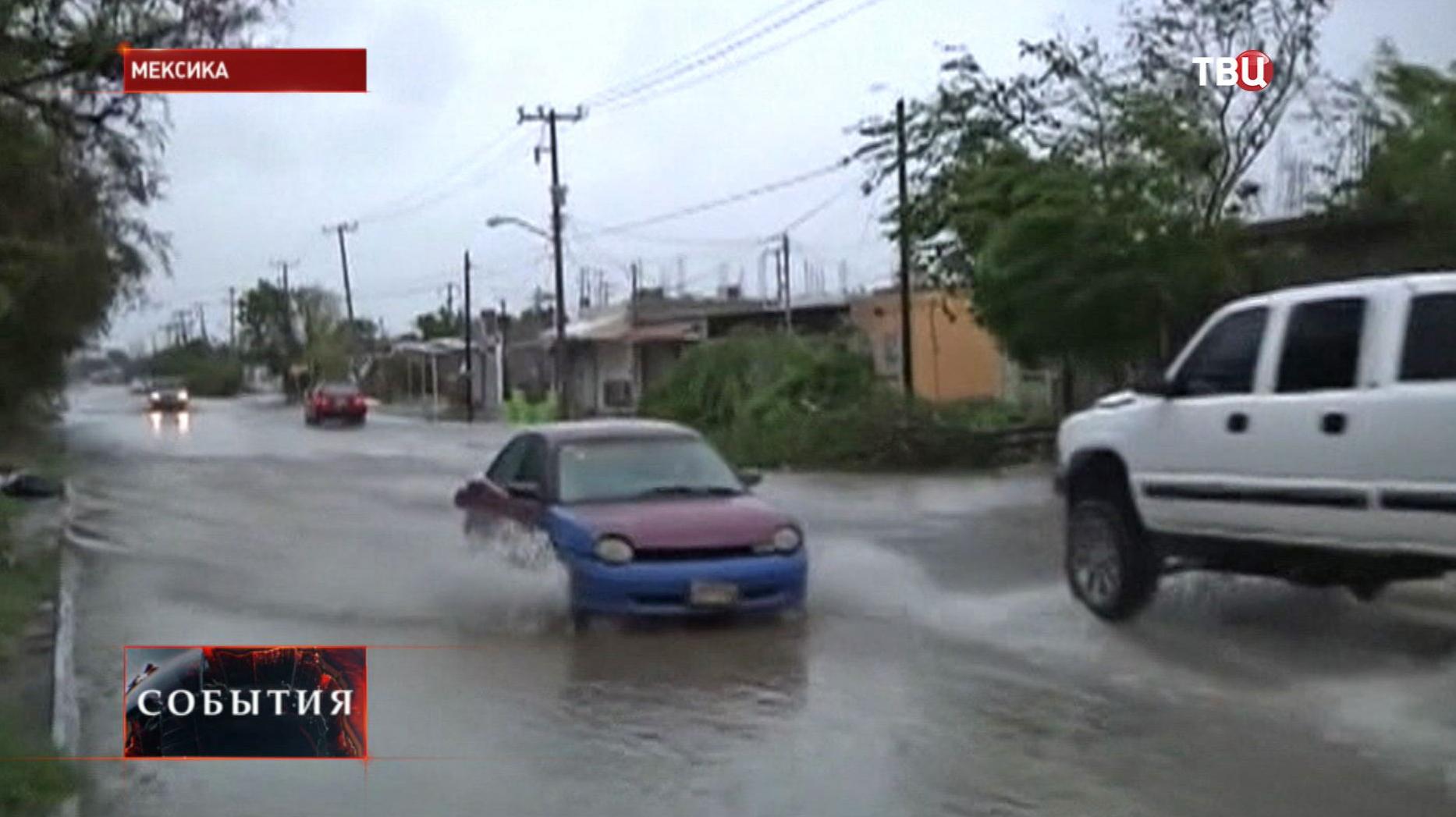 """Последствия урагана """"Одиль"""" в Мексике"""