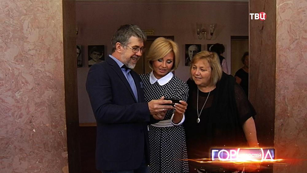 Артисты театра имени Моссовета